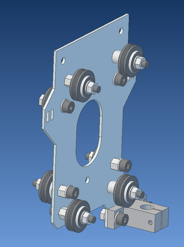 gantry front plate step6