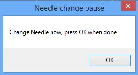 hello change needle