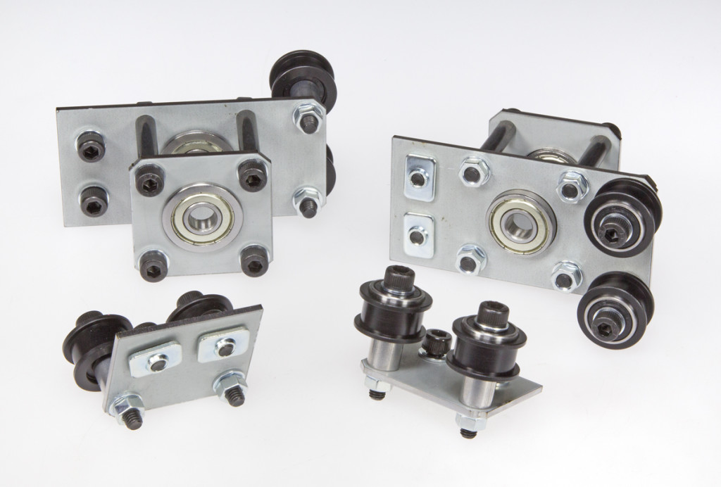 Bearings and idlers holders