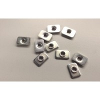 Pre-assembly nuts for extrusions