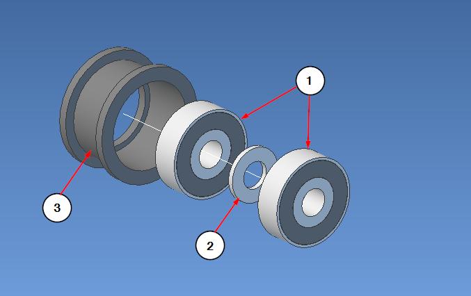Idler wheel assembly