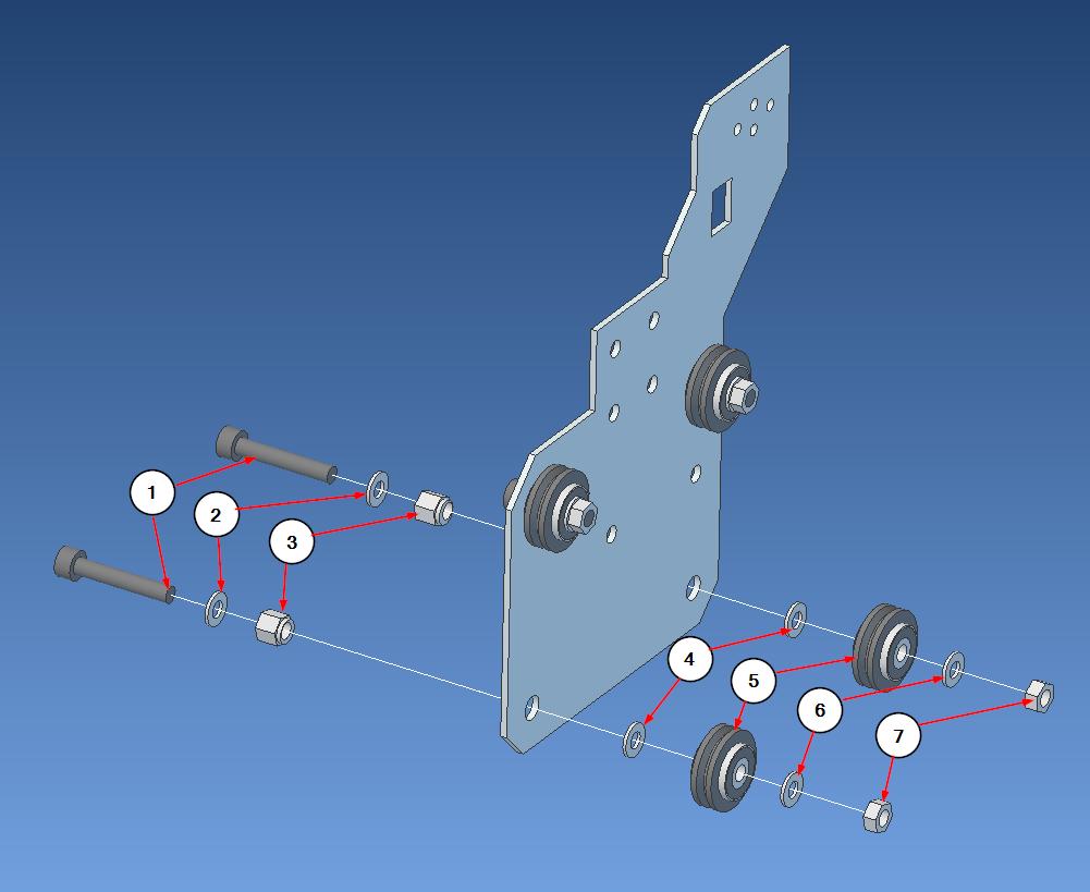 ybar right roller step2
