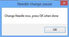 hello change needle