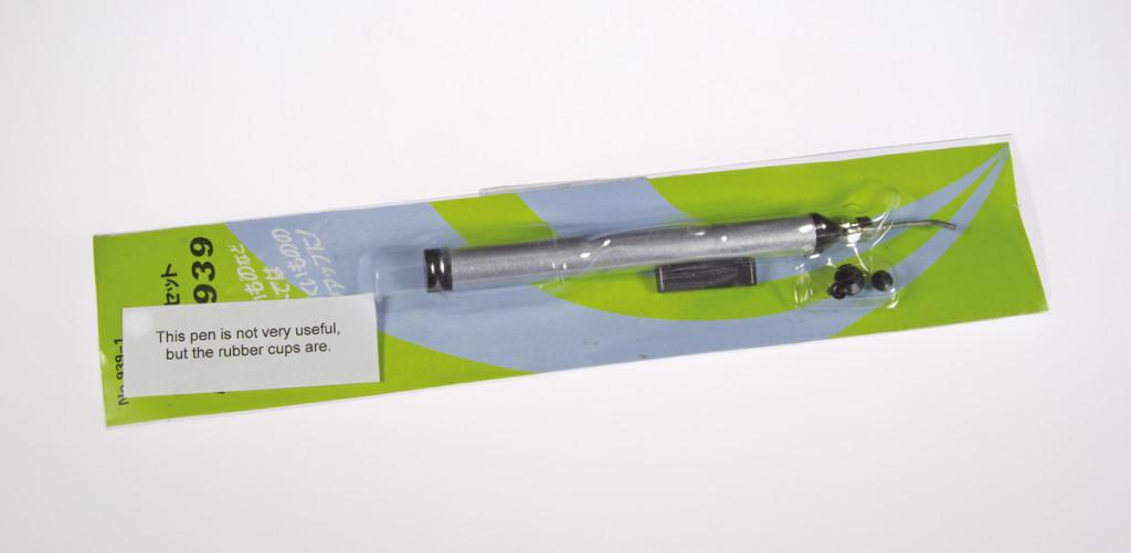 Manual pickup pen