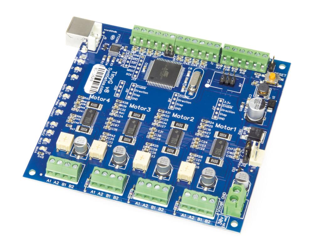 TinyG controller board
